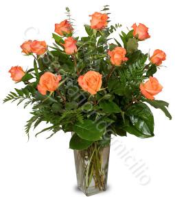 consegna-fiori-a-domicilio-12-roselline-arancio