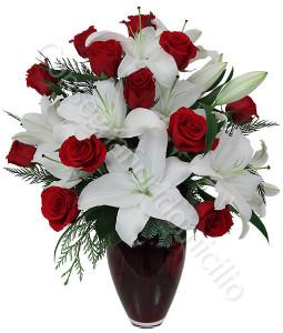 consegna-fiori-a-domicilio-bouquet-rose-rosse-gigli-bianchi