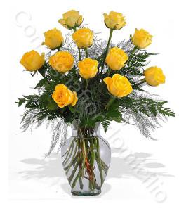consegna-fiori-a-domicilio-12-roselline-gialle