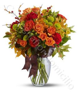 consegna-fiori-a-domicilio-bouquet-di-rose-arancio-e-fiori-misti