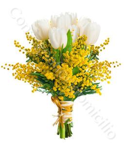 consegna-fiori-a-domicilio-bouquet-tuplipani-mimosa