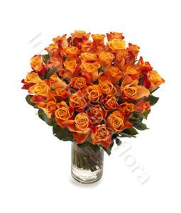 consegna-fiori-a-domicilio-bouquet-di-50-rose-arancio