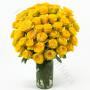 consegna-fiori-a-domicilio-bouquet-di-50-rose-gialle